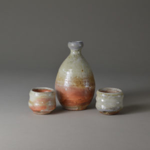 shino sake set (wabi sabi collection) Product