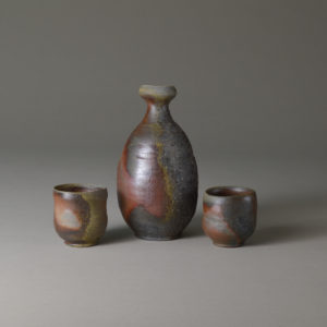 natural ash sake set Product